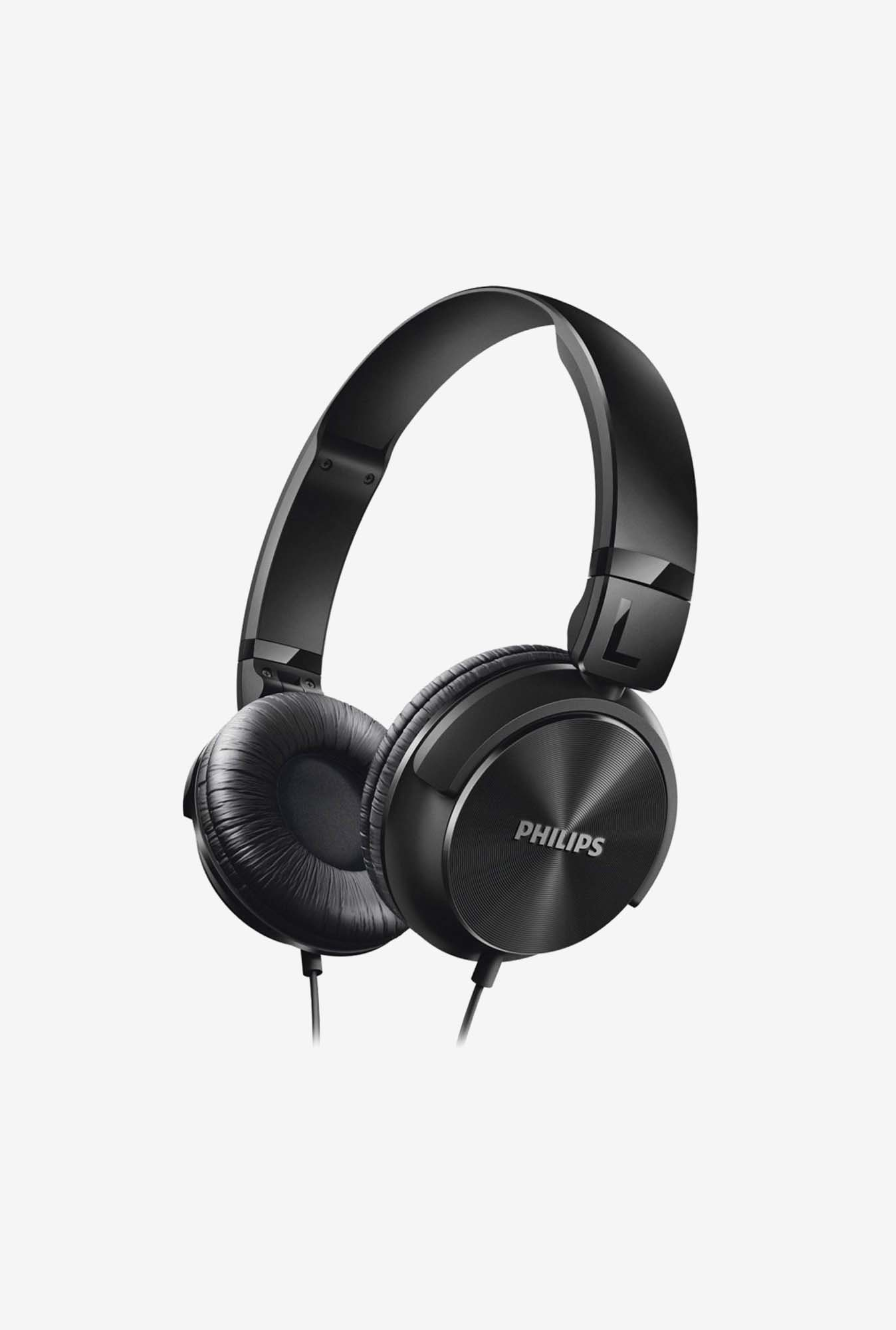 Philips Dynamic SHL3060BK Over Ear Headphone Black