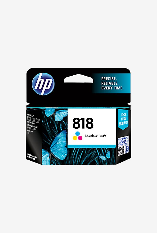 HP 818 Inkjet Cartridge Tri color