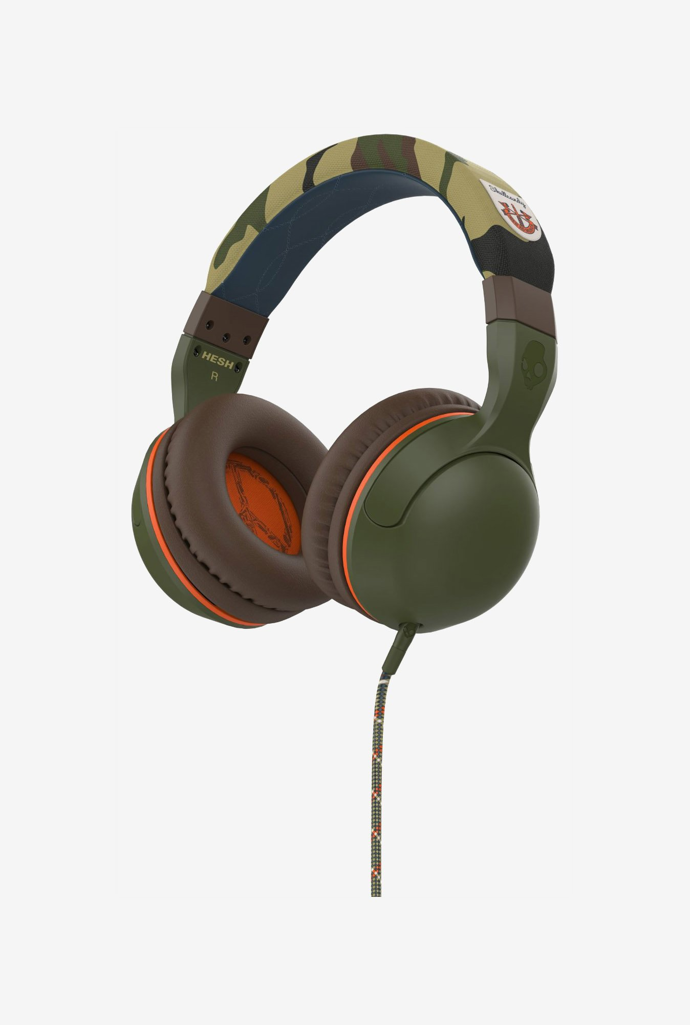 Skullcandy Hesh 2.0 S6HSGY-367 Over Ear Headphone Camo