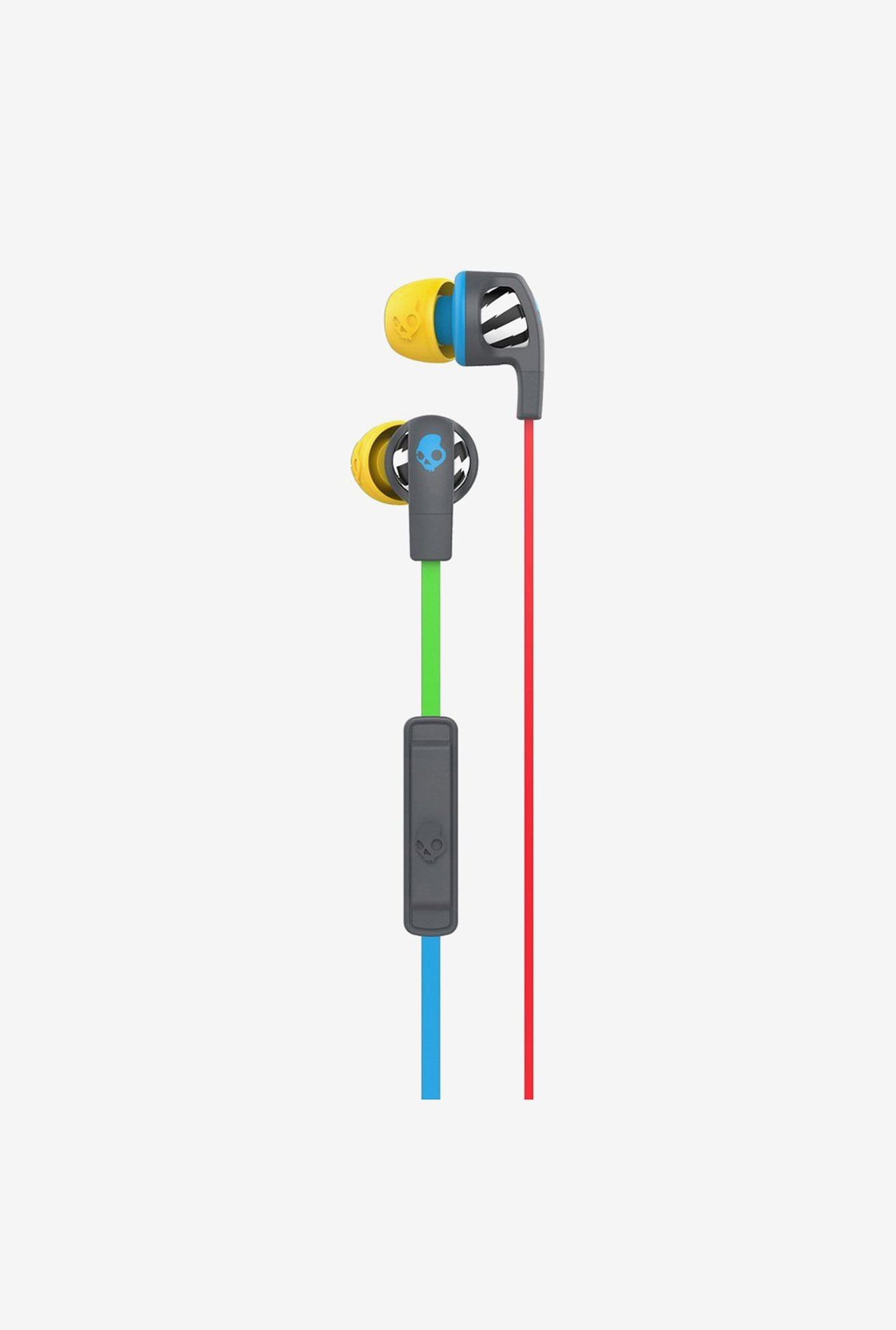 Skullcandy Smokin Buds 2.0 S2PGHY-478 Headphone Grey & Blue