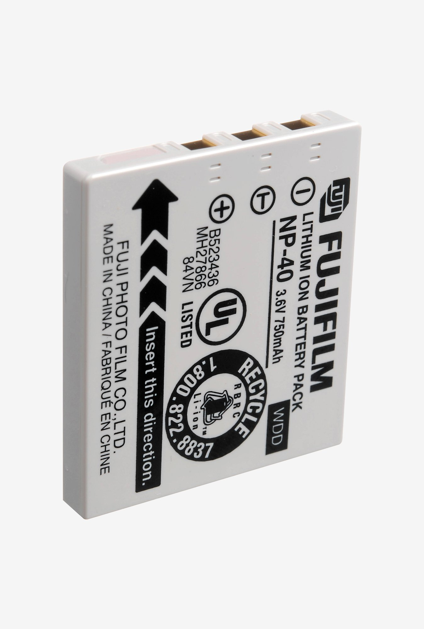 Digitek Fuji NP 40 Rechargeable Battery White