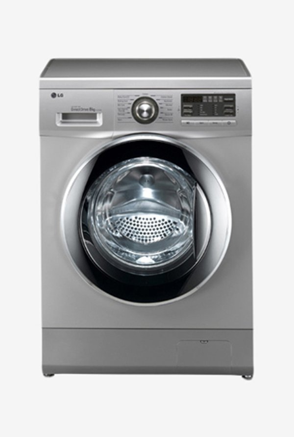 LG 8KG Front Loaded F1496TDP24 Washing Machine Silver
