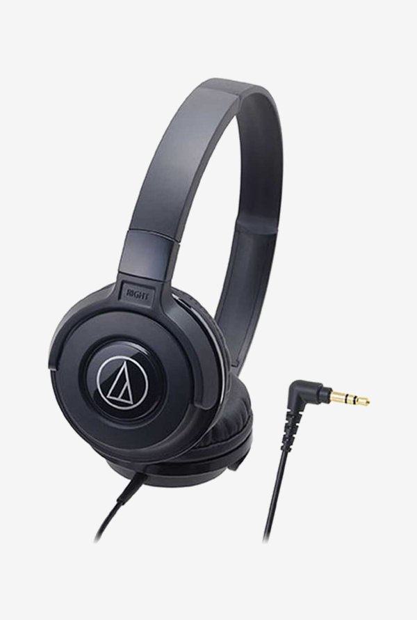 Audio-Technica Street ATH-S100 On The Ear Headphone Black