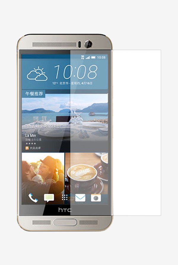 Stuffcool Supertuff Clear Screen Protector for HTC One M9+