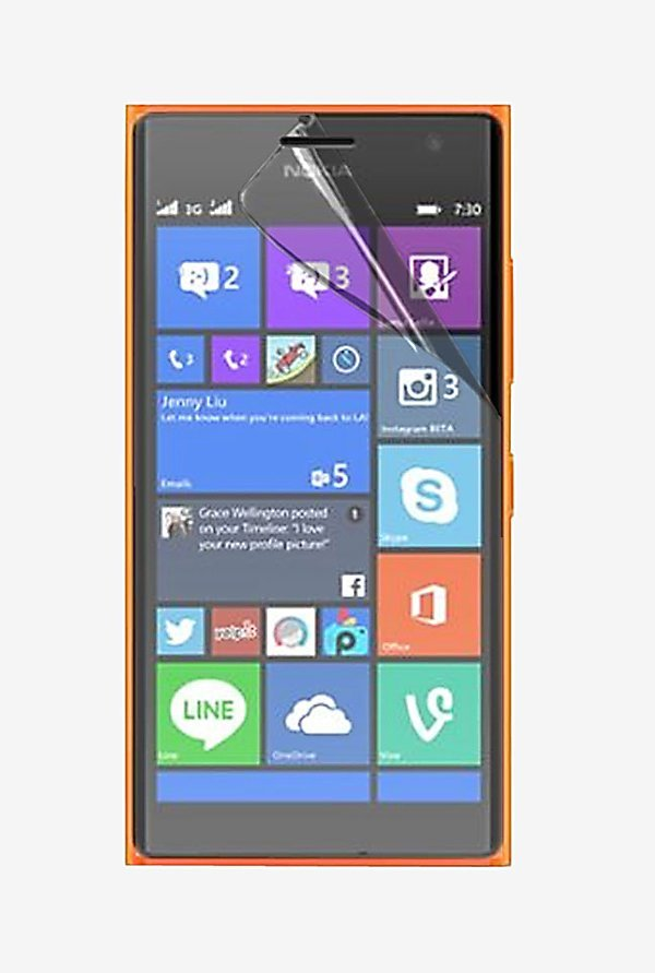 Stuffcool Crystal Clear Screen Protector for Lumia 730