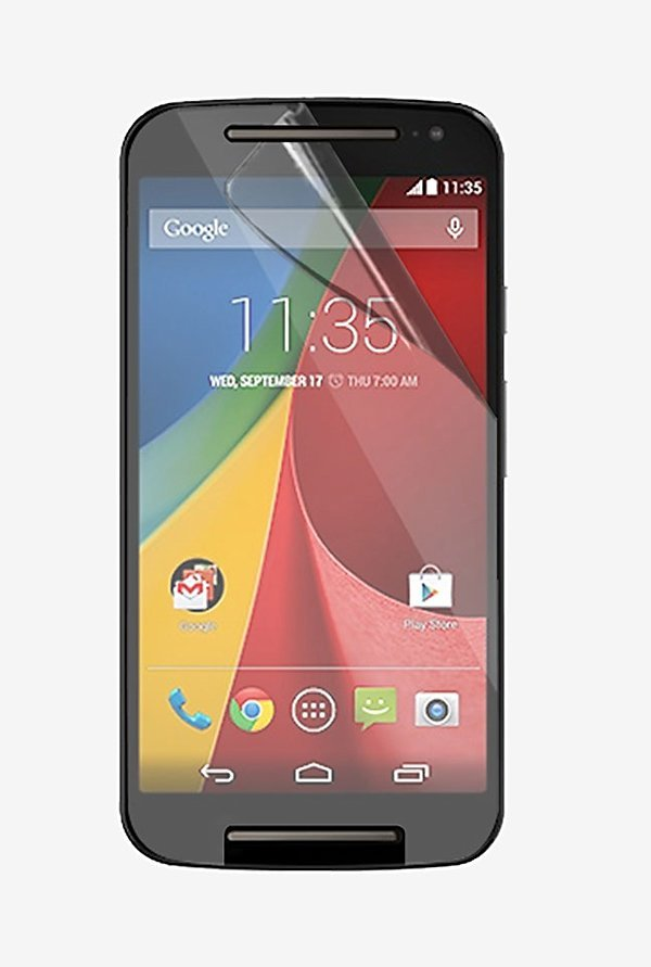 Stuffcool Crystal Clear Screen Protector for Moto G2