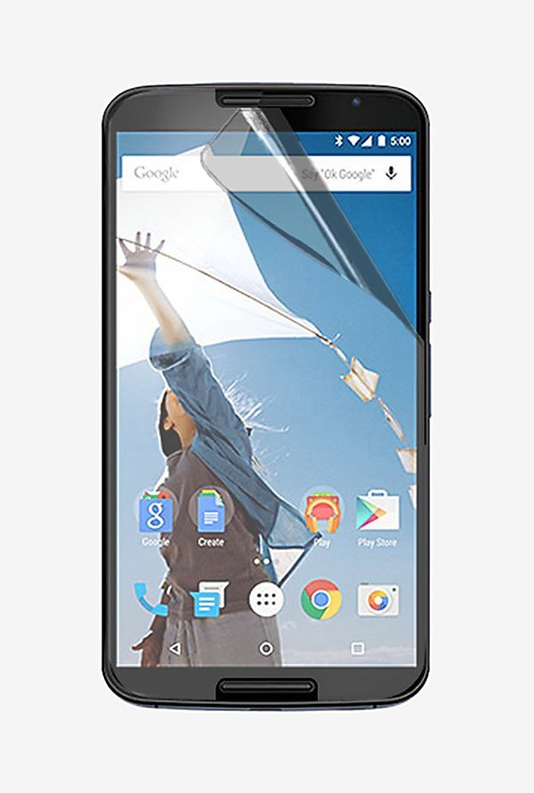 Stuffcool Crystal Clear Screen Protector for Nexus 6