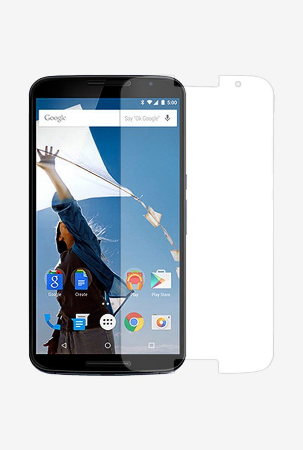 Stuffcool Supertuff Clear Screen Protector for Nexus 6