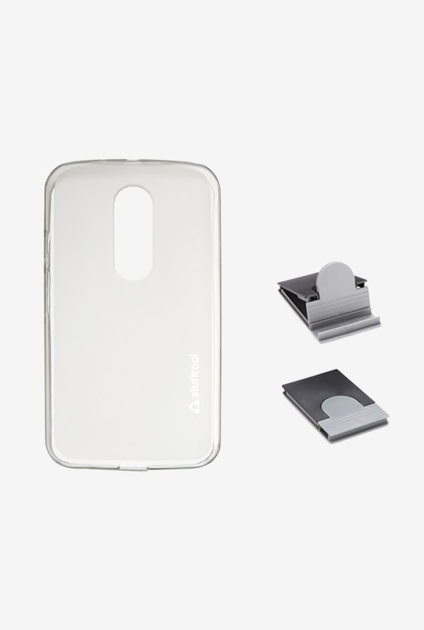 Stuffcool LSMTG2 Back Case for Moto G2 Grey