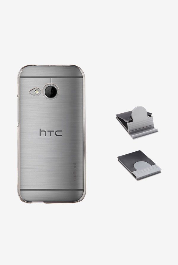 Stuffcool CLHCOM2 Back Case for HTC One Mini 2 Clear