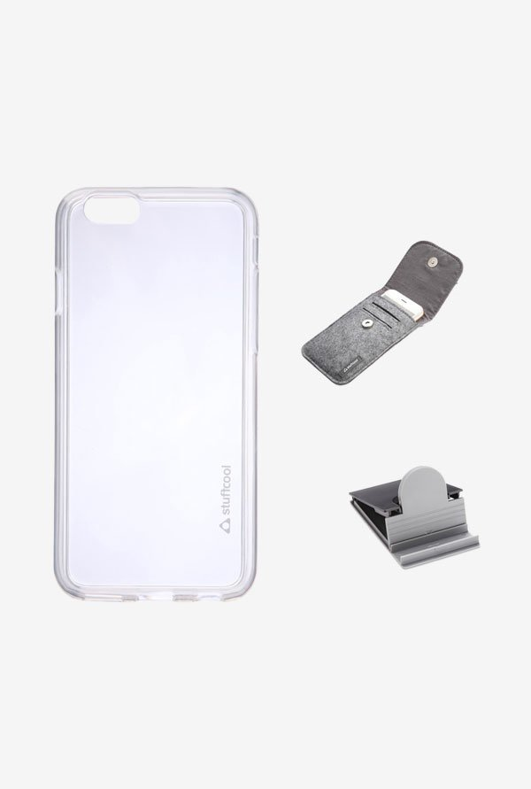 Stuffcool MCIP647 Back Case for Apple iPhone 6 White
