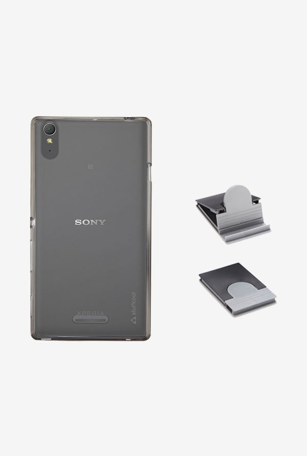 Stuffcool LSSYT3 Back Case for Sony Xperia T3 Grey