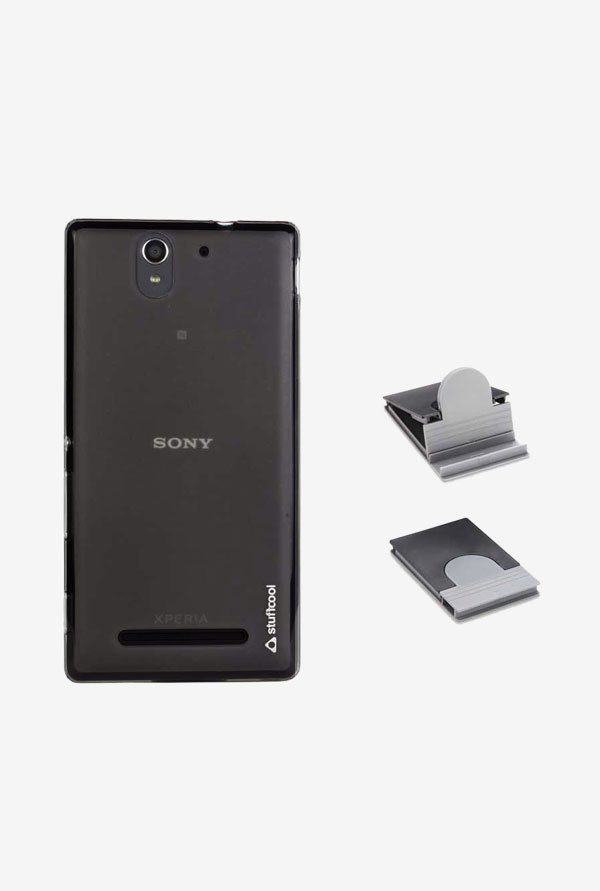 Stuffcool LSSYC3 Back Case for Sony Xperia C3/C3 Dual Black