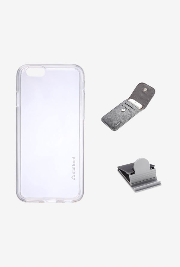 Stuffcool MCIP655 Back Case for Apple iPhone 6+ White