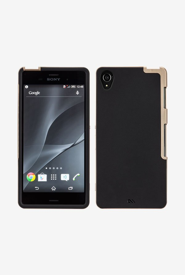 Case-Mate CM031312 Back Case for Sony Xperia Z3 Black