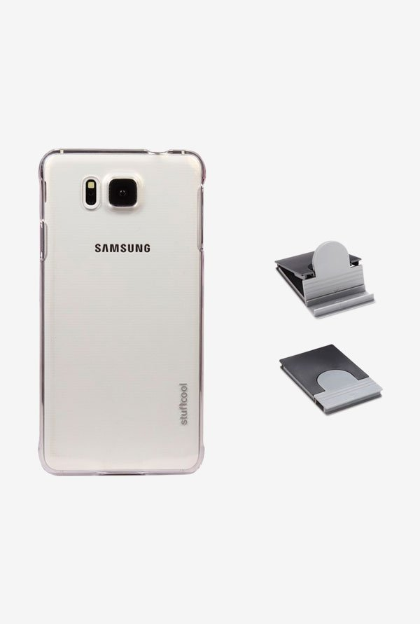 Stuffcool CLSG850 Back Case for Samsung Galaxy Alpha Clear