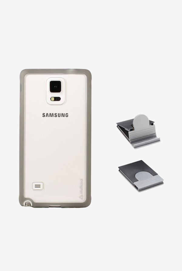Stuffcool MCSGN910 Back Case for Samsung Galaxy Note 4 Grey