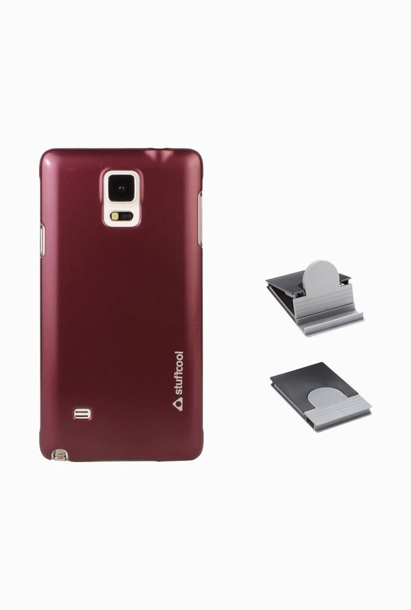 Stuffcool EMSGN910 Back Case for Samsung Galaxy Note 4 Red