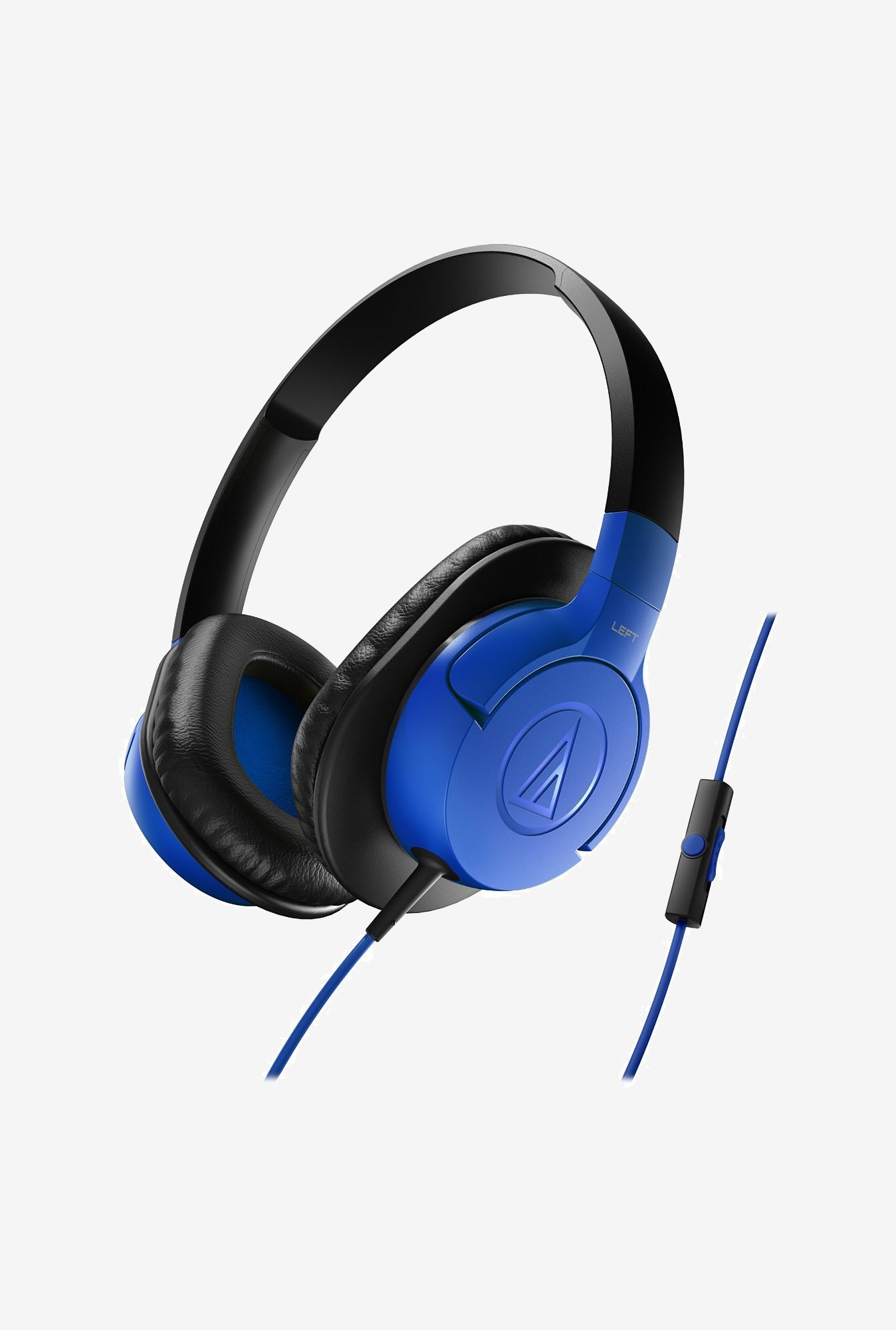 Audio-Technica ATH-AX1iS Headphones Blue