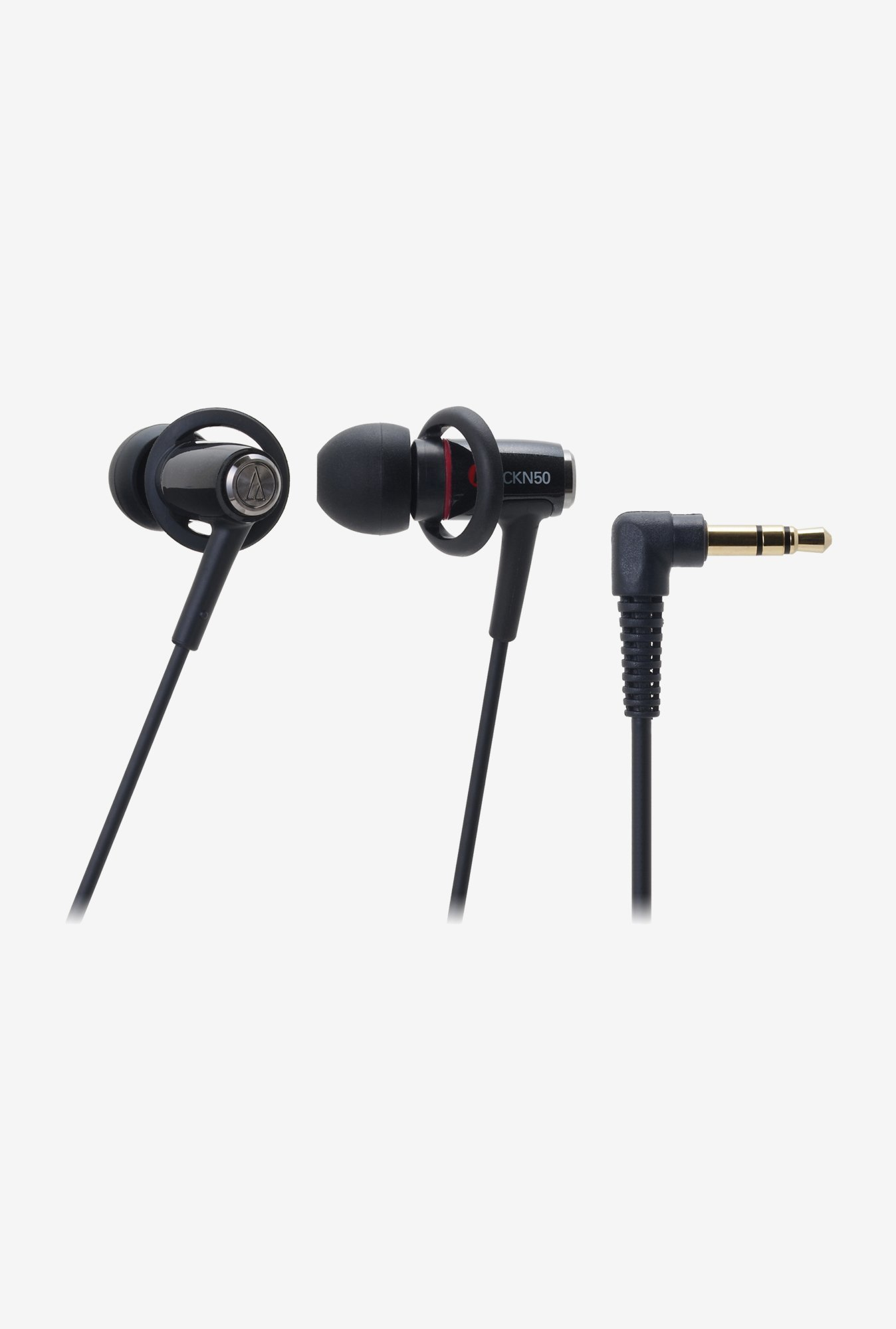Audio-Technica CKN50 In The Ear Headphones Black