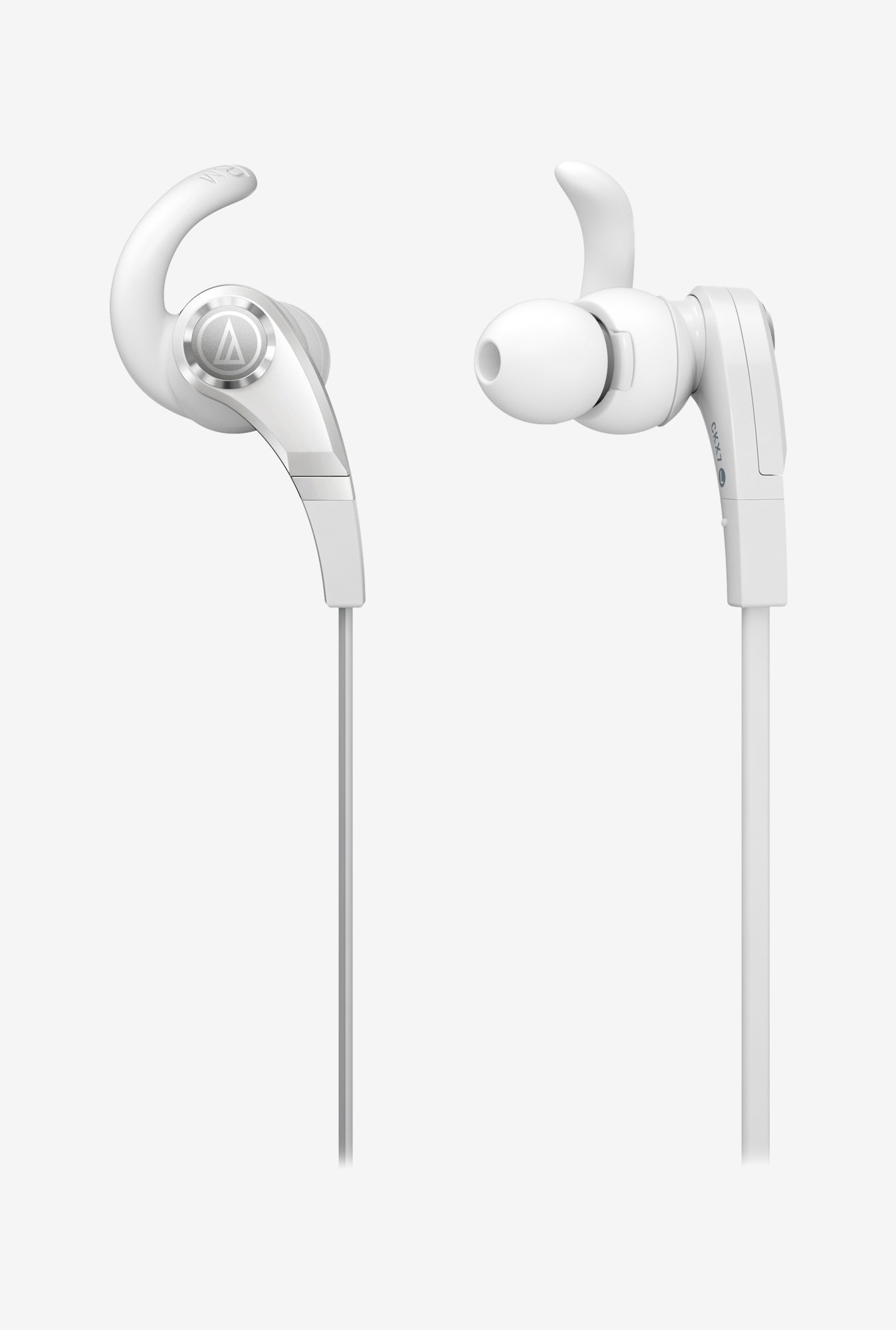Audio-Technica CKX7 In The Ear Headphones White