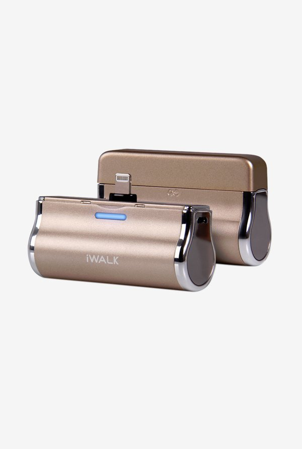iWalk DBL3000L-017A 3000mAh Power Bank for iPhone Gold