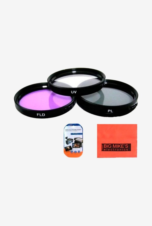 Big Mike's Canon FLK77 Filter Kit (3 Piece) Black