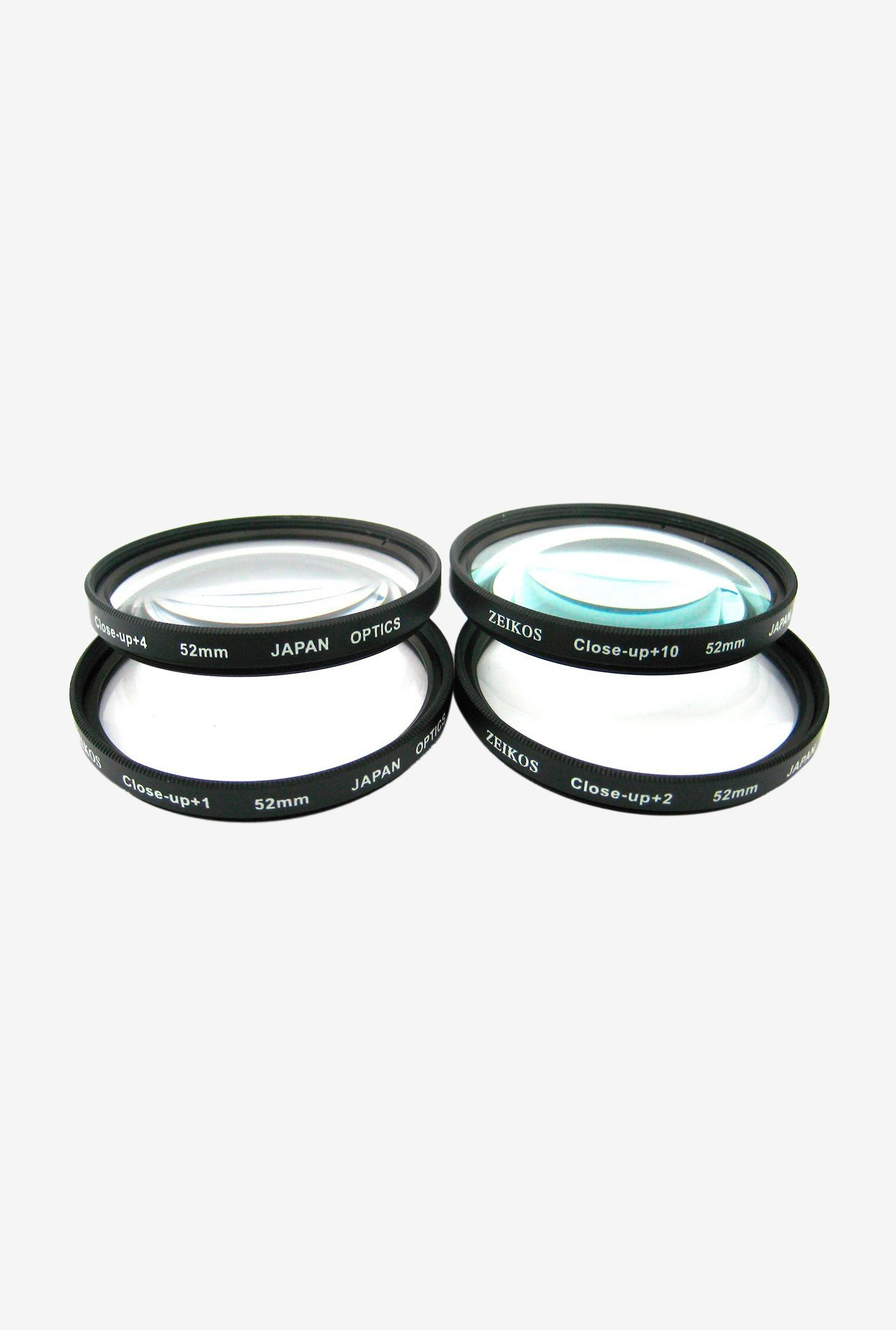 Zeikos 52mm ZE-CU452 Close up Filter Set (4 Piece)