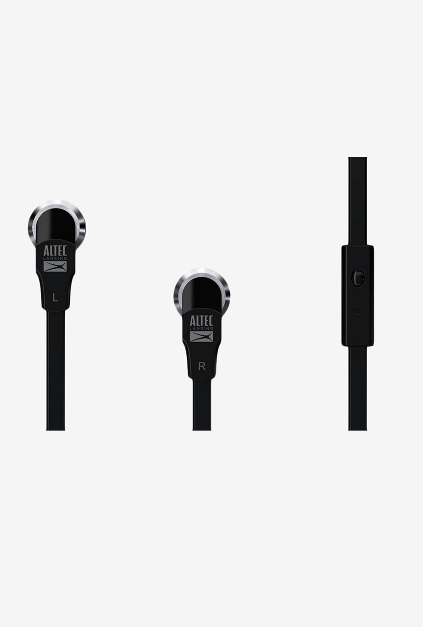 Altec Lansing MZX145-BLK In-Ear Earphone Black