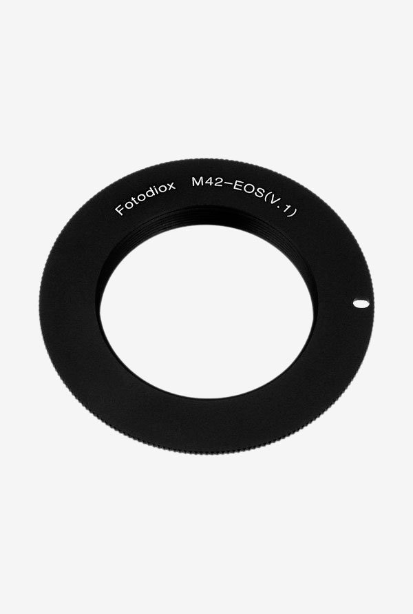 Fotodiox 07LAm42eosB Lens Mount Adapter Black