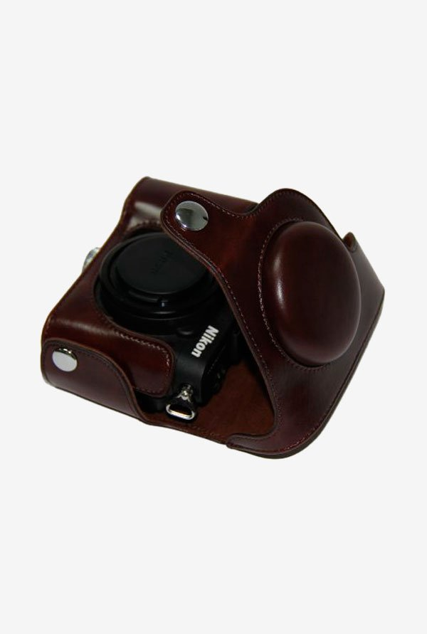 MegaGear Ever Ready MG269 Leather Camera Case Dark Brown