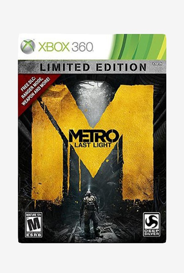 Xbox360 Metro:Last Light Limted Edition
