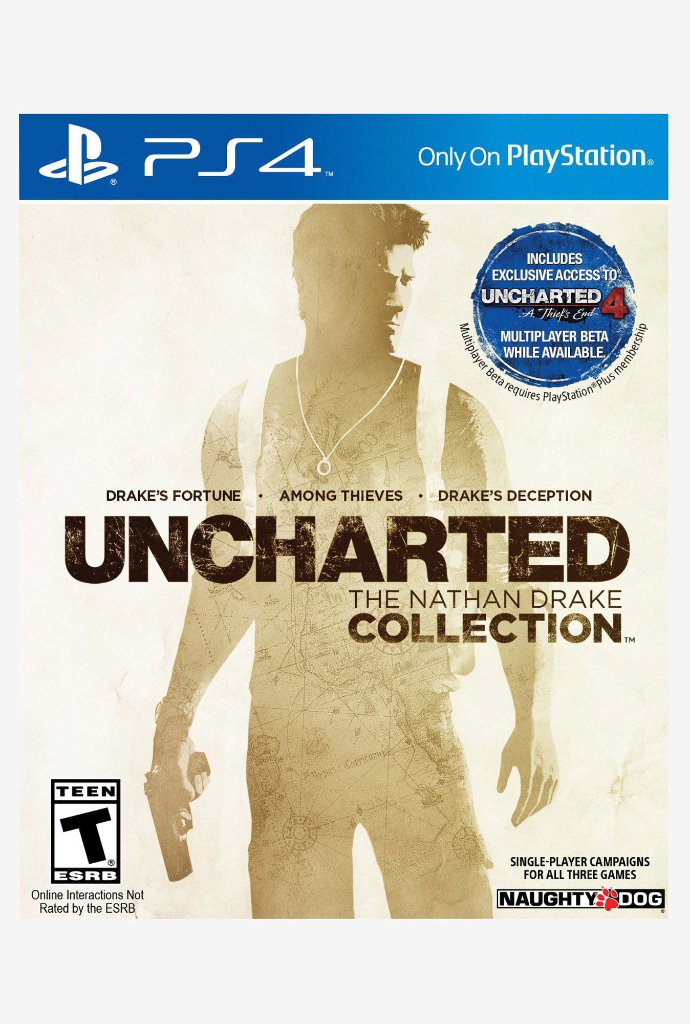 PS4 Nathan Drake Collection Uncharted