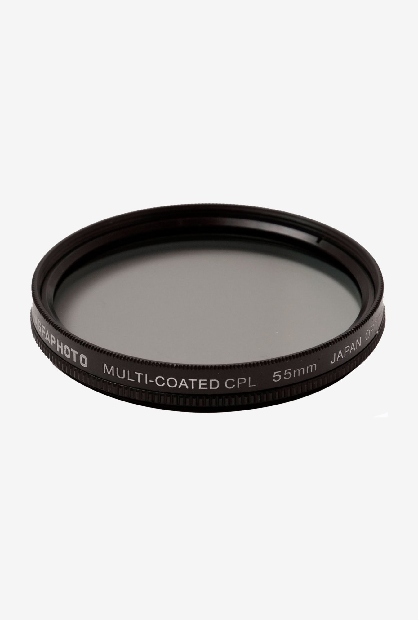 AGFA 55mm APCPF55 CPL Filter Black