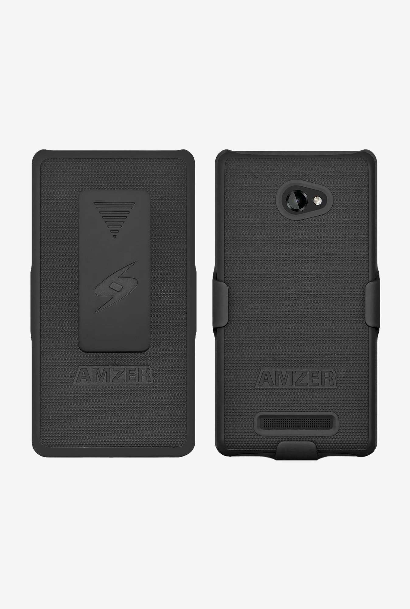 Amzer Shellster Shell Case Black for BlackBerry Z10