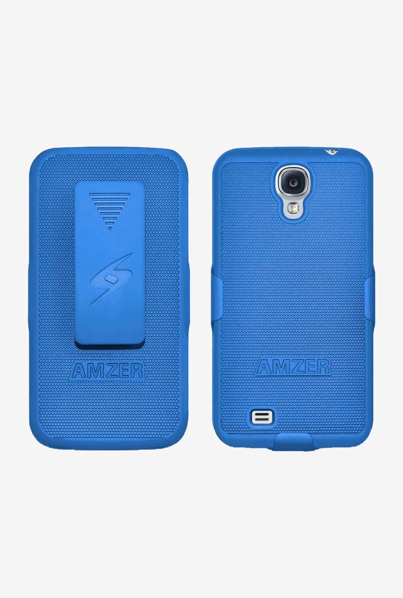 Amzer Shellster Shell Case Blue for Galaxy S4
