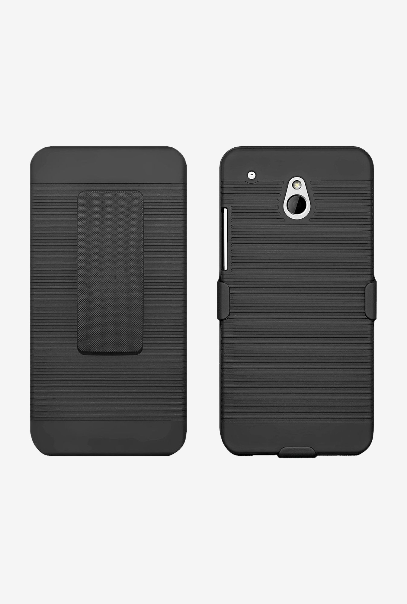 Amzer Shellster Shell Case Black for HTC One Mini M4