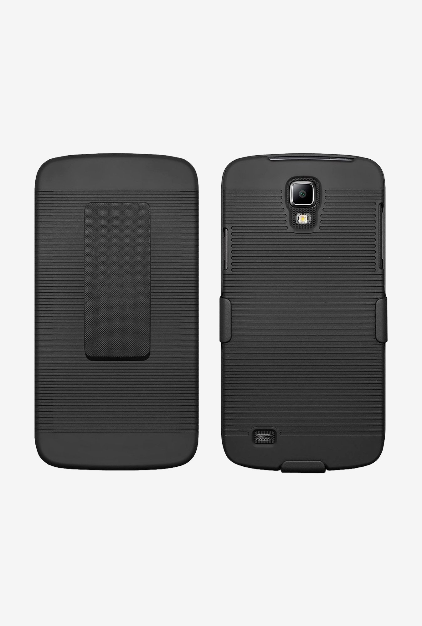 Amzer Shellster Shell Case Black for Galaxy S4 Active