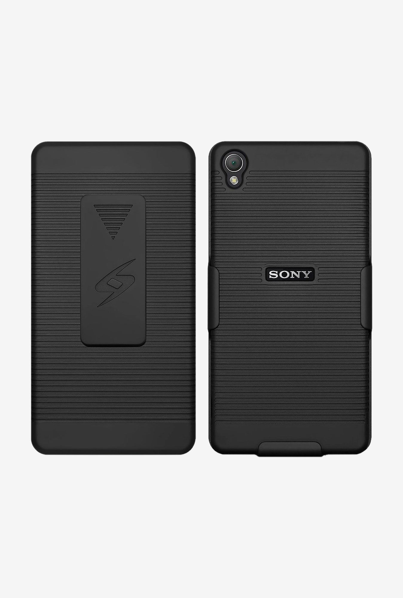 Amzer Shellster Shell Case Black for Sony Xperia Z3