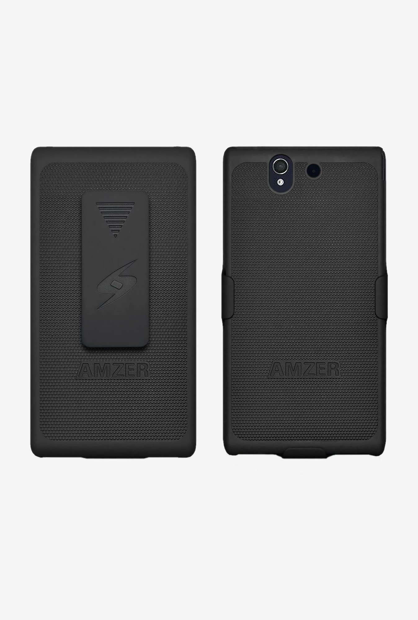 Amzer Shellster Shell Case Black for Xperia Z