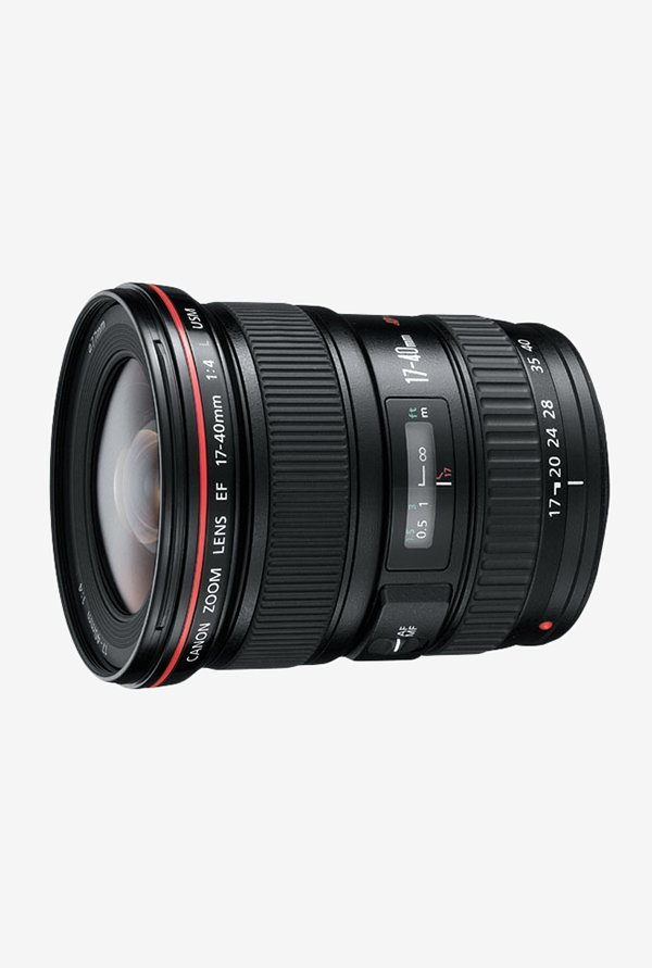Canon EF 17-40mm f/4L USM Lens Black