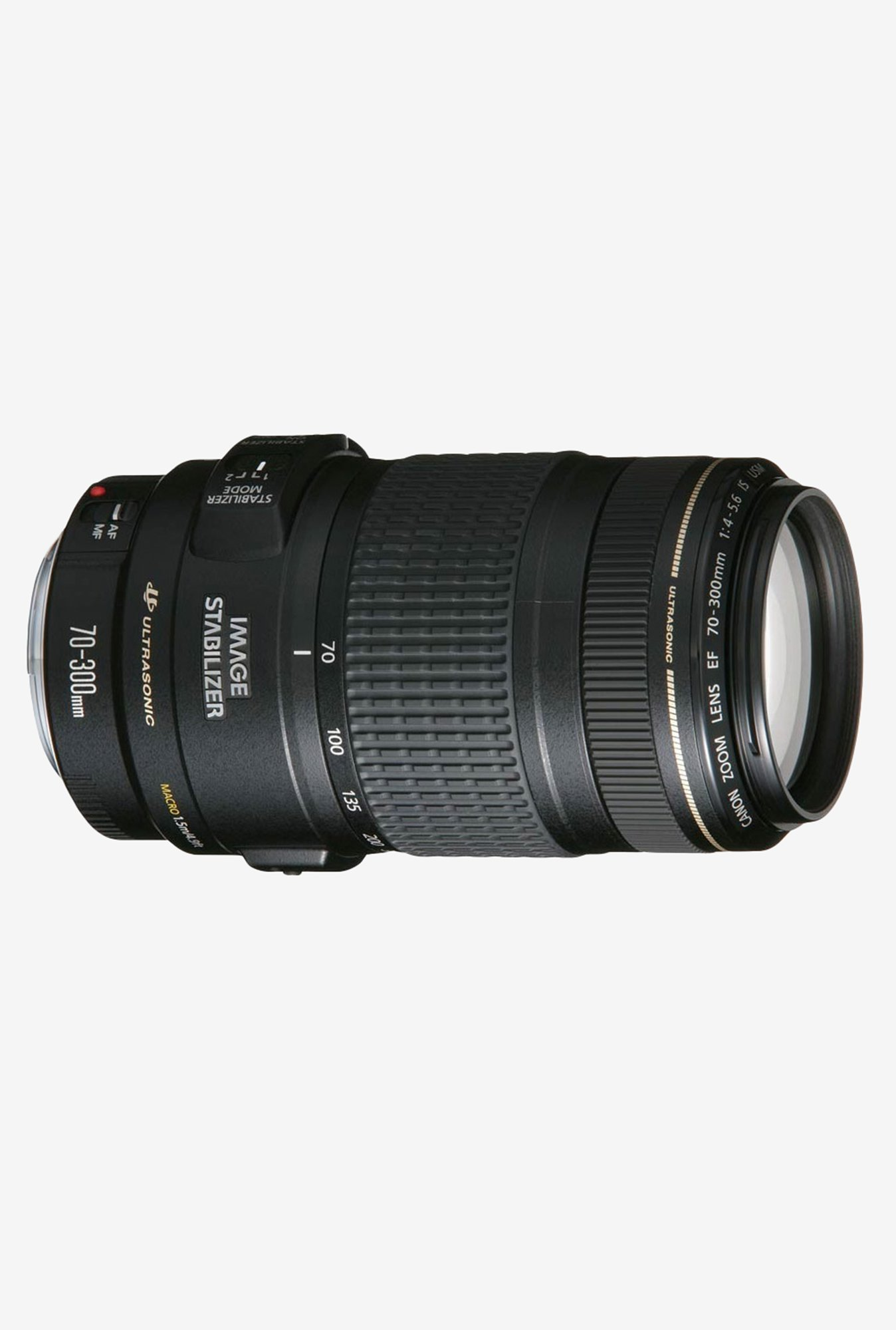 Canon EF 70-300mm f/4-5.6 IS USM Lens Black
