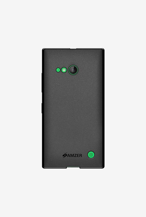 Amzer Pudding TPU Case Black for Lumia 735