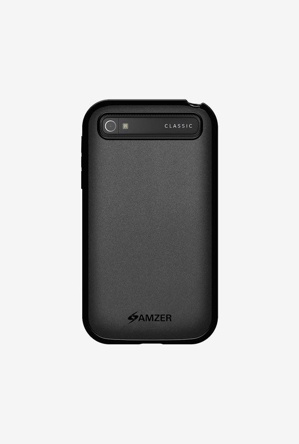 Amzer Pudding TPU Case Black for BlackBerry Classic