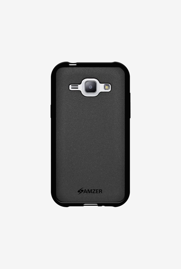 Amzer Pudding TPU Case Black for Samsung J1