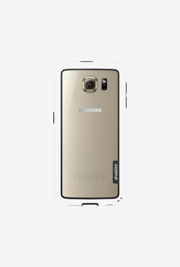 Amzer Border Case White for Samsung S6