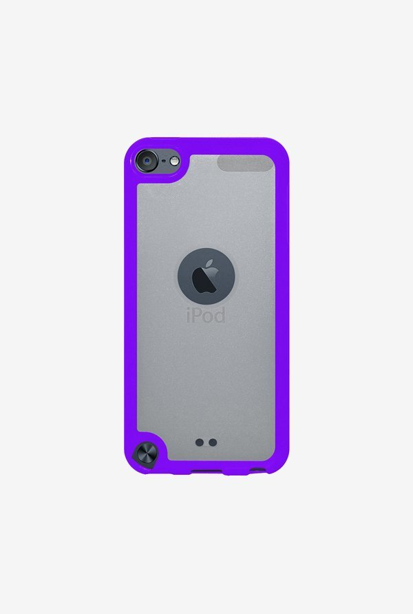 Amzer SlimGrip Hybrid Case Cloudy & Purple for iPod Touch