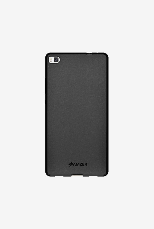 Amzer Pudding TPU Case Black for Huawei P8