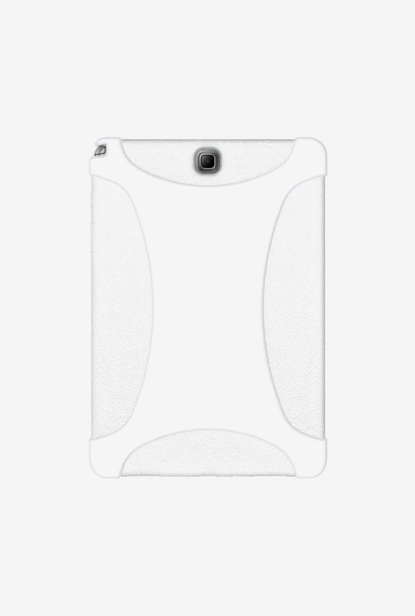 Amzer Silicone Skin Jelly Case Solid White for Samsung Tab A