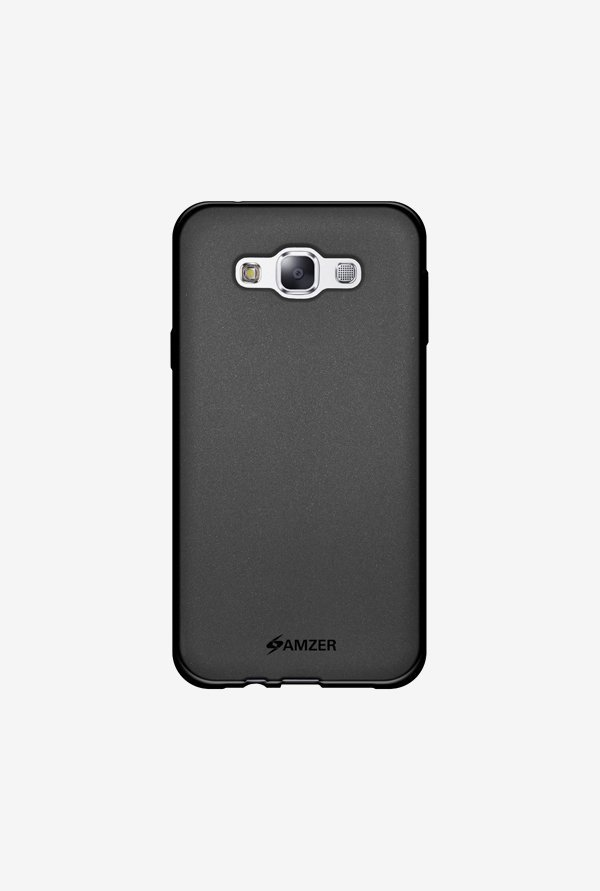Amzer Pudding TPU Case Black for Samsung E7